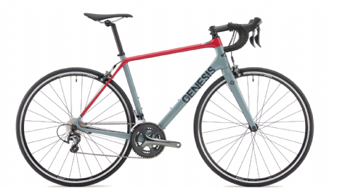 Genesis Zeal 10 Road Bike Grey 2018